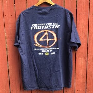 Vintage 2005 Marvel Fantastic Four Promo t-shirt